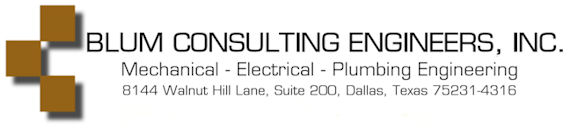 Blum Consulting Engineers - Logo with Address